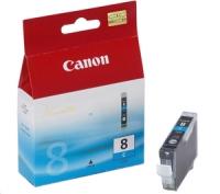 Картридж оригинальный голубой (cyan) Canon CLI-8C, ресурс 490 стр.