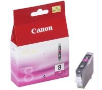 Картридж оригинальный пурпурный (magenta) Canon CLI-8M, ресурс 490 стр.