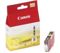 Картридж оригинальный желтый (yellow) Canon CLI-8Y, ресурс 490 стр.