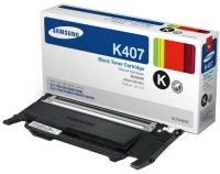 Картридж оригинальный черный (black) Samsung CLT-K407S, ресурс 1500 стр.