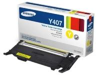Картридж оригинальный желтый (yellow) Samsung CLT-Y407S, ресурс 1000 стр.