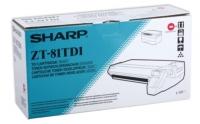 Тонер-картридж оригинальный Sharp ZT-81TD1, ресурс  4000 стр.