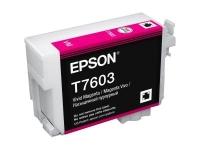 Картридж оригинальный (в технологической упаковке) Epson T7603 SС P-600 Magenta