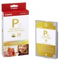 Набор для фотопечати оригинальный Canon E-P20G Gold (А6 20 л. + картридж)