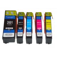 Картридж оригинальный (в технологической упаковке) голубой Epson T2612 XP26 Cyan (C13T26124010), ресурс 300 стр.