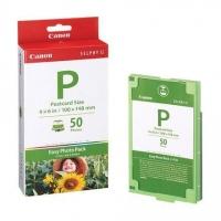 Набор для фотопечати оригинальный Canon E-P50 (А6 50 л. + картридж)