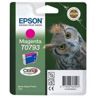 Картридж оригинальный (в технологической упаковке) пурпурный (magenta) Epson T0793 / C13T07934010