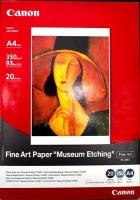 Бумага Canon FA-ME1 (Fine Art Paper Museum Etching) для художественной печати A4, 350 г/м2, 20 л.
