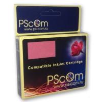 Картридж Ps-Com голубой (cyan) совместимый c Canon BCI-6C, объем 15 мл.