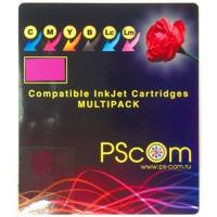 Комплект картриджей Ps-Com совместимый с Canon CLI-426B/C/M/Y
