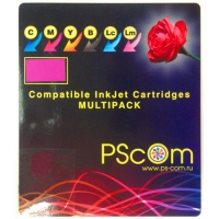 Комплект картриджей Ps-Com совместимый с Epson T048740 / C13T04874010 (C13T048140BA) (Bk, C, M, Y, LC, LM)