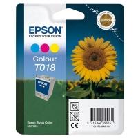 Картридж оригинальный (в технологической упаковке) цветной Epson T018 color, ресурс 300 стр.