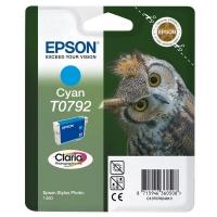 Картридж оригинальный (в технологической упаковке) голубой (cyan) Epson T0792 / C13T07924010