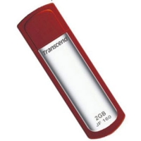 Флэш-накопитель Transcend JetFlash 160  2Gb, красный