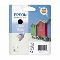 Картридж оригинальный черный Epson T036 Black