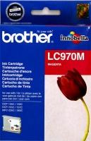 Картридж оригинальный пурпурный (magenta) Brother LC-970M, ресурс 300 стр.