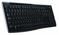 Клавиатура Logitech Wireless Keyboard K270 Black USB