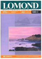 Lomond 0102012 Двусторонняя Матовая/Матовая фотобумага для струйной печати, A3, 170 г/м2, 100 листов.