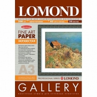 Lomond 0912232 Coarse-Grainy Natural White Archiv Одност.Зернист.грубая натур.-бел.,архивная.A3 ,200 g/m, 20 лист.