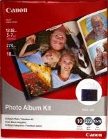 Набор Canon PAK-101 - альбом + глянцевая фотобумага 13х18, 273 г/м2, 10 л.