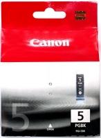 Картридж оригинальный черный (black) Canon PGI-5Bk, ресурс 360 стр.