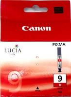 Картридж оригинальный красный (red) Canon PGI-9R, емкость 14 мл.