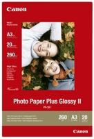 Бумага Canon PP-201 (Photo Paper Plus Glossy II) глянцевая A3, 260 г/м2, 20 л.