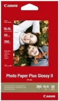 Бумага Canon PP-201 (Photo Paper Plus Glossy II) глянцевая  A6, 260 г/м2, 50 л.