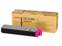 Картридж оригинальный пурпурный (magenta) Kyocera TK-510M, ресурс 8000 стр.