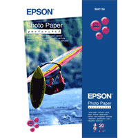 Бумага Epson S041134 (Photo Perforated Paper) глянцевая с перфорацией, А6,194 г/м2, 20 л.