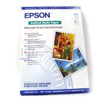 Бумага Epson S041342 (Archival Matte Paper) матовая, A4, 192 г/м2, 50 л.