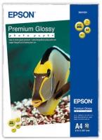 Бумага Epson S041624 (Premium Glossy Photo Paper) глянцевая, A4, 255 г/м2, 50 л.