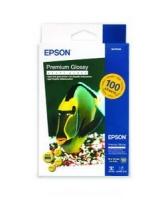 Бумага Epson S041822 (Premium Glossy Рhoto Paper) глянцевая A6, 255 г/м2,100 л.