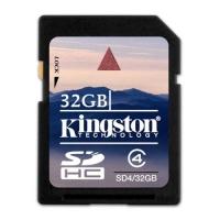 Карта памяти Kingston SDHC 32Gb