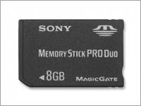 Карта памяти SONY Memory Stick PRO Duo 8Gb