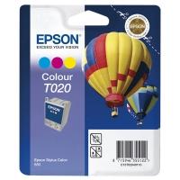 Картридж оригинальный (в технологической упаковке) цветной Epson T020 color, ресурс 300 стр.