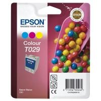 Картридж оригинальный (в технологической упаковке) цветной Epson T029 color, ресурс 300 стр.
