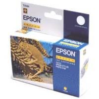Картридж оригинальный (в технологической упаковке) желтый (yellow) Epson T0344, ресурс 440 стр.