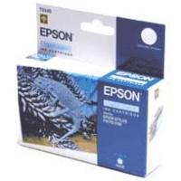 Картридж оригинальный (в технологической упаковке) светло-голубой (light cyan) Epson T0345, ресурс 440 стр.