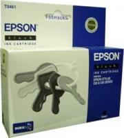 Картридж оригинальный (в технологической упаковке) черный (black) Epson T0461, ресурс 400 стр.
