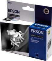 Картридж оригинальный (в технологической упаковке) фото черный (photo black) Epson T0541 / C13T05414010, ресурс 400 стр.