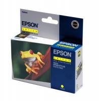 Картридж оригинальный (в технологической упаковке) желтый (yellow) Epson T0544 / C13T05444010, ресурс 400 стр.