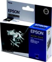 Картридж оригинальный (в технологической упаковке) матовый черный (matte black) Epson T0548 / C13T05484010, ресурс 400 стр.