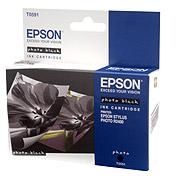 Картридж оригинальный (в технологической упаковке) черный (black) Epson T0591, ресурс 440 стр.