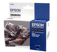 Картридж оригинальный (в технологической упаковке) матовый черный (matte black) Epson T0598, ресурс 440 стр.