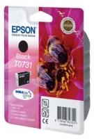 Картридж оригинальный (в технологической упаковке) черный (black) Epson T0731 / C13T07311A10, ресурс 470 стр.