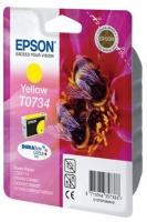 Картридж оригинальный (в технологической упаковке) желтый (yellow) Epson T0734 / C13T07344A10, ресурс 370 стр.