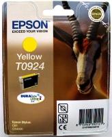 Картридж оригинальный (в технологической упаковке) желтый (yellow) Epson T0924 / C13T09244A10, объем 5,5 мл.