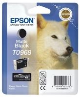Картридж оригинальный (в технологической упаковке) матовый черный (matte black) Epson T0968, объем 11,4 мл.