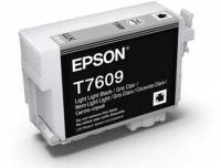 Картридж оригинальный (блистер) Epson T7609 (C13T76094010) Light Light Black